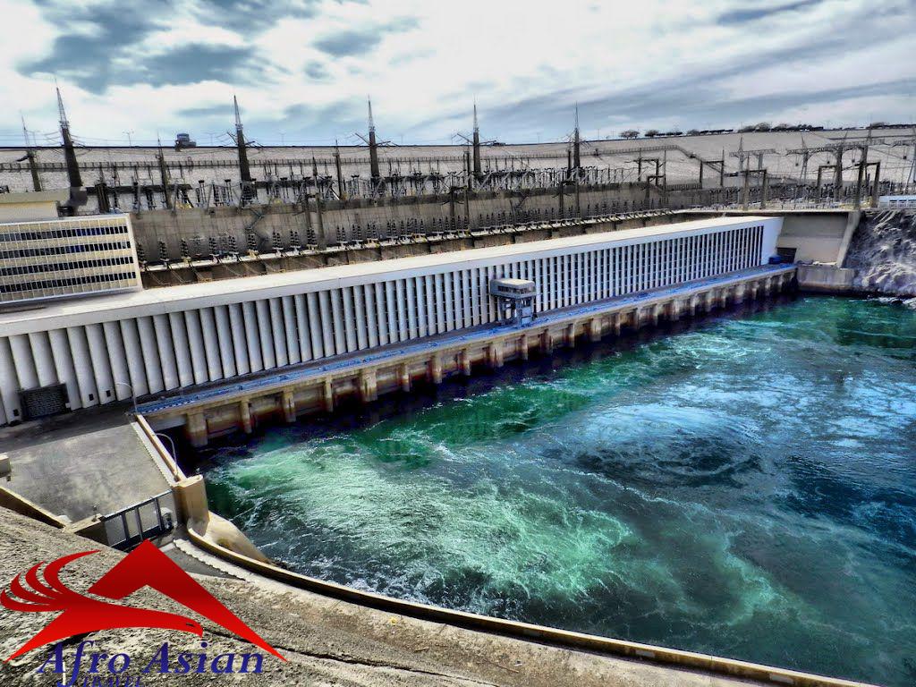 A barragem alta