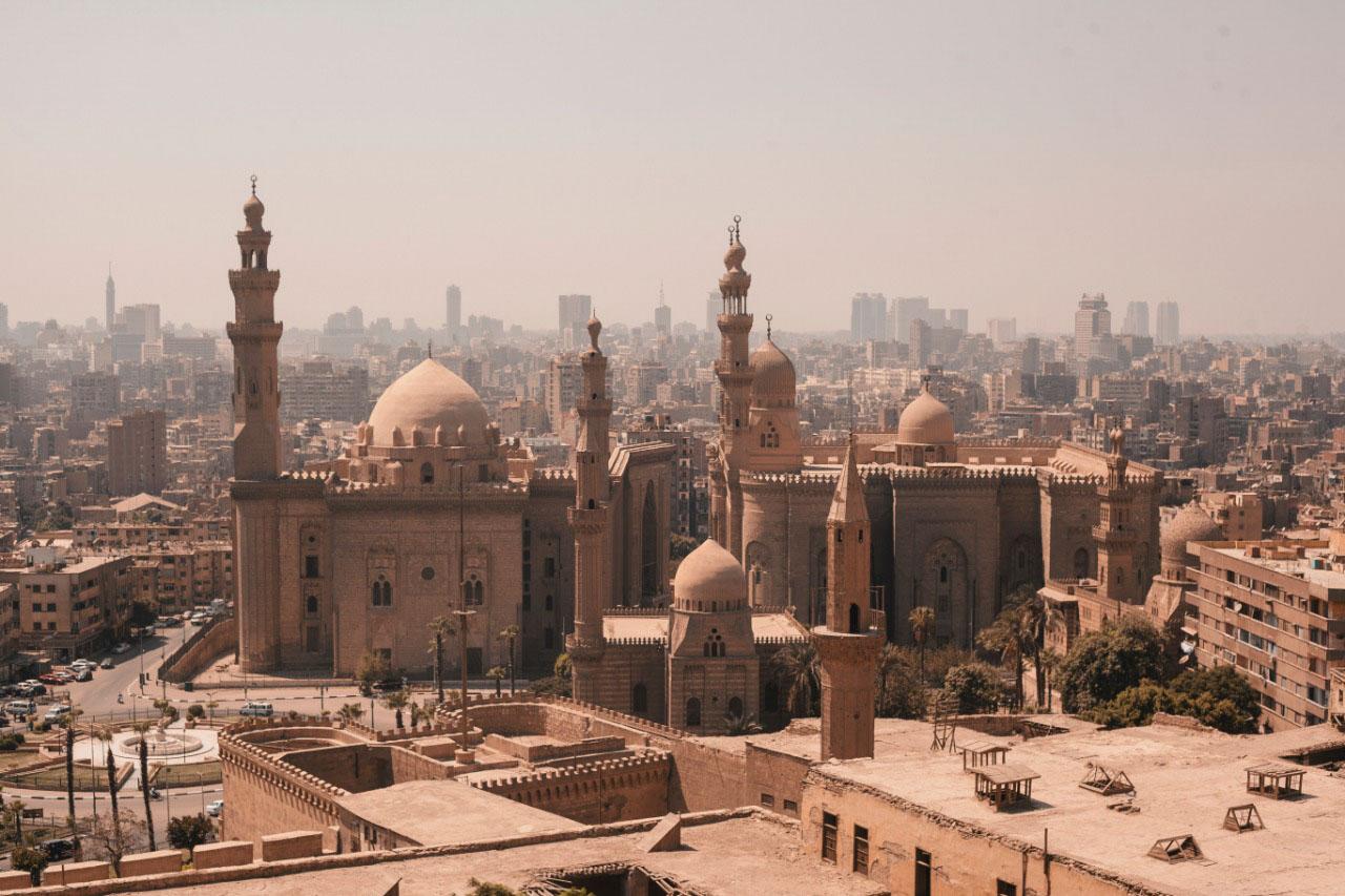 Mezquita y escuela de al- Sultán Hassan