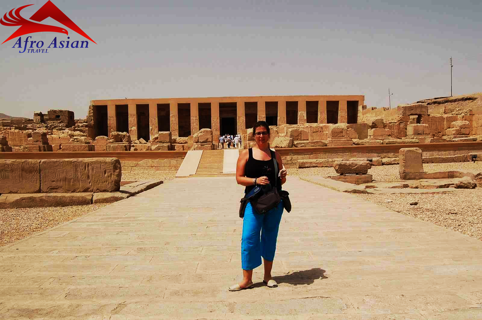 Temple of Abydos and Temple of Dandera