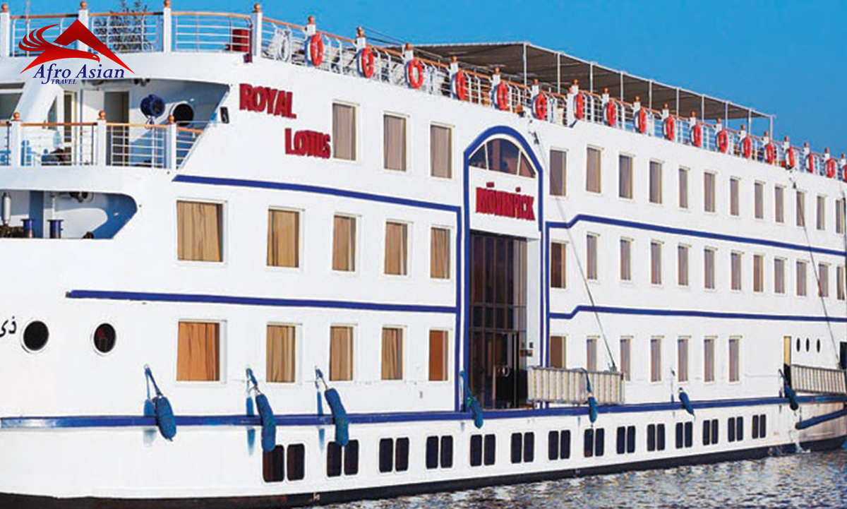 Movenpick M/S Royal Lily Nile Cruise 4 NIGHTS/ 5 DAYS
